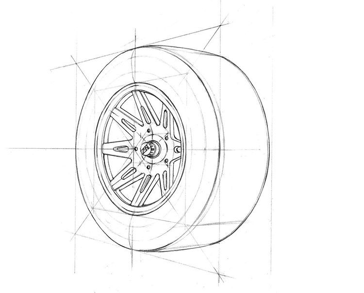 "ZNLEE LAB  투시흥신소-흥과 신이 나는 연구소 on Instagram: ""#투시흥신소 had***님의 의뢰: #타이어 #tire (역순)  #그려줄랩 #perspective #시계도법 #znlee #스케치 #렌더링 #제품디자인 #sketch #투시몬스터"""