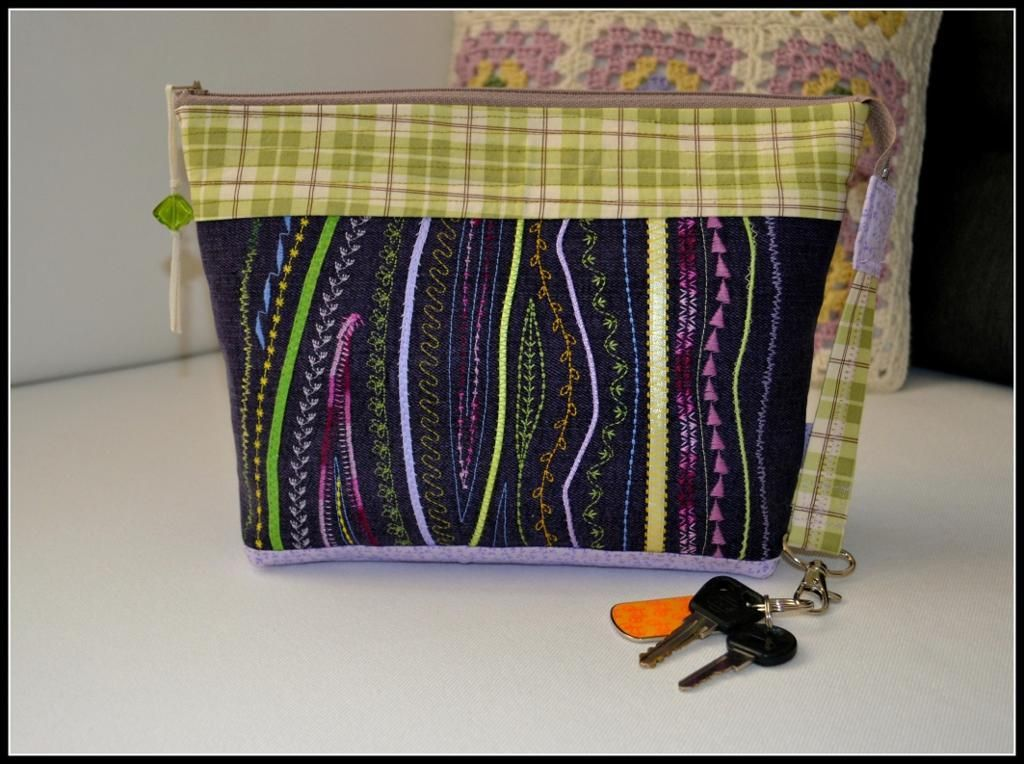 Make Up Bag Via Craftsy Quot Stupendous Stitching Quot Class