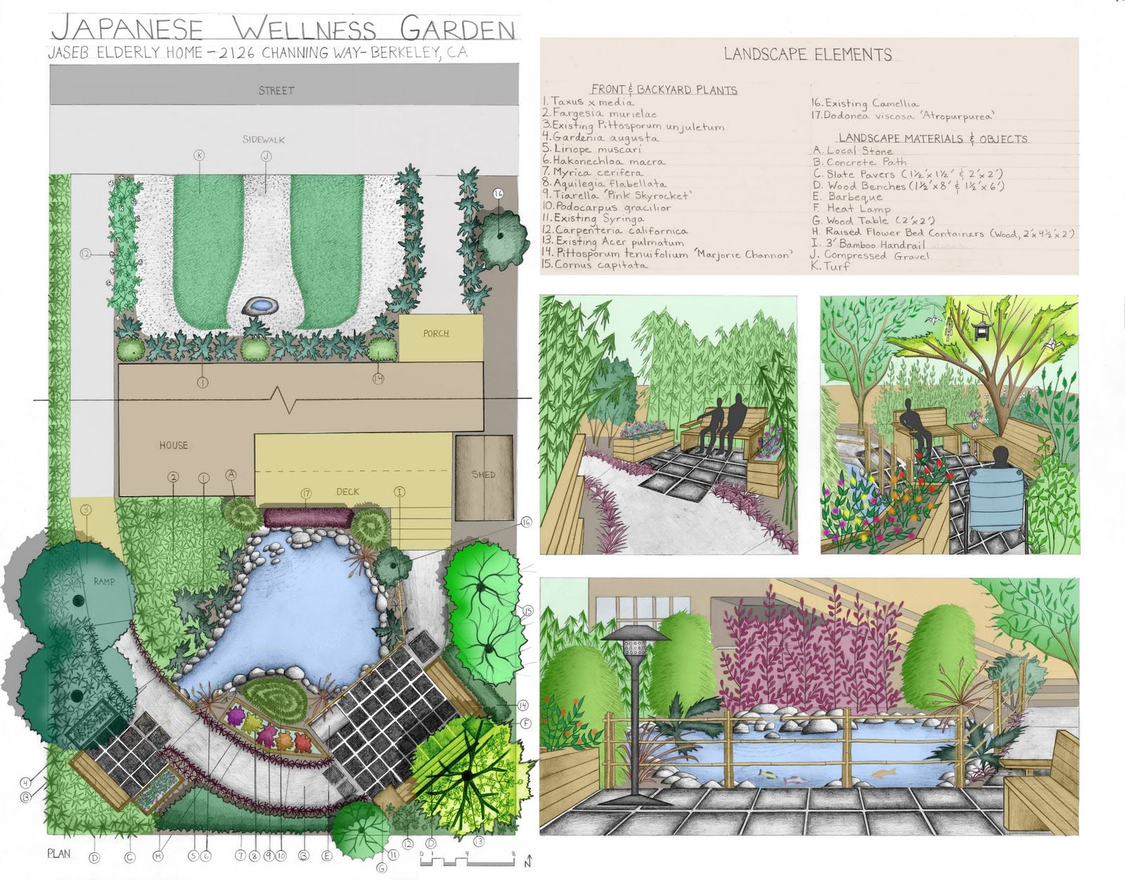 Therapeutic Landscape Projects Landscape Design Drawings Landscape Projects Landscape Design Plans
