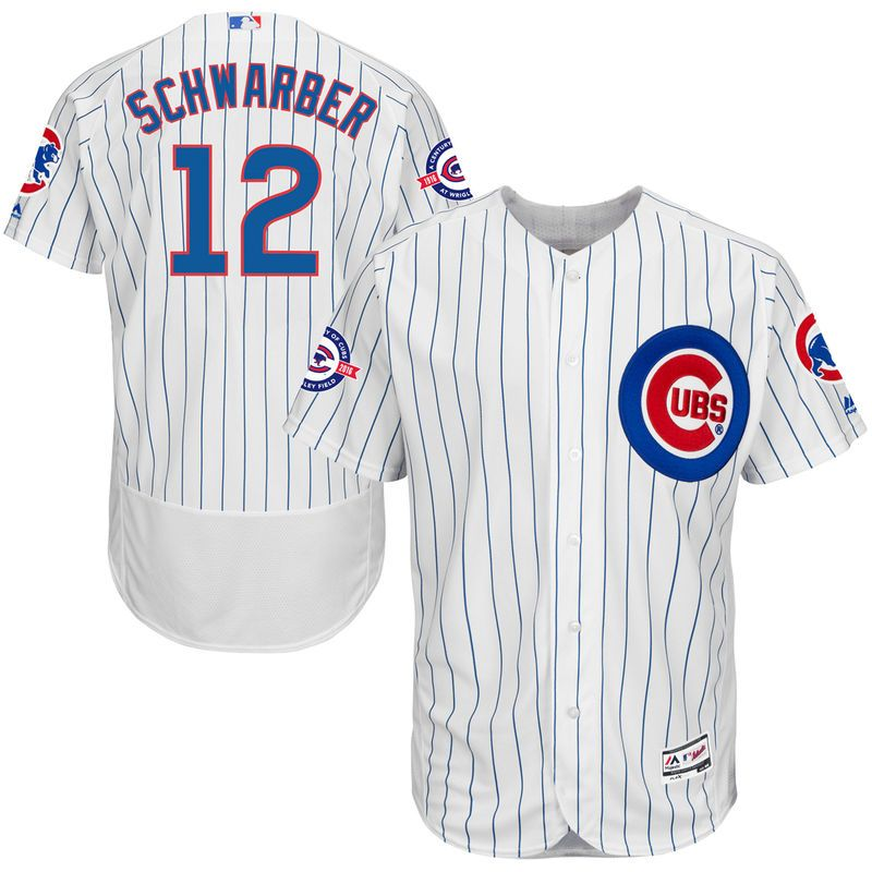best service 44515 5b311 Kyle Schwarber Chicago Cubs Majestic Home Flex Base ...