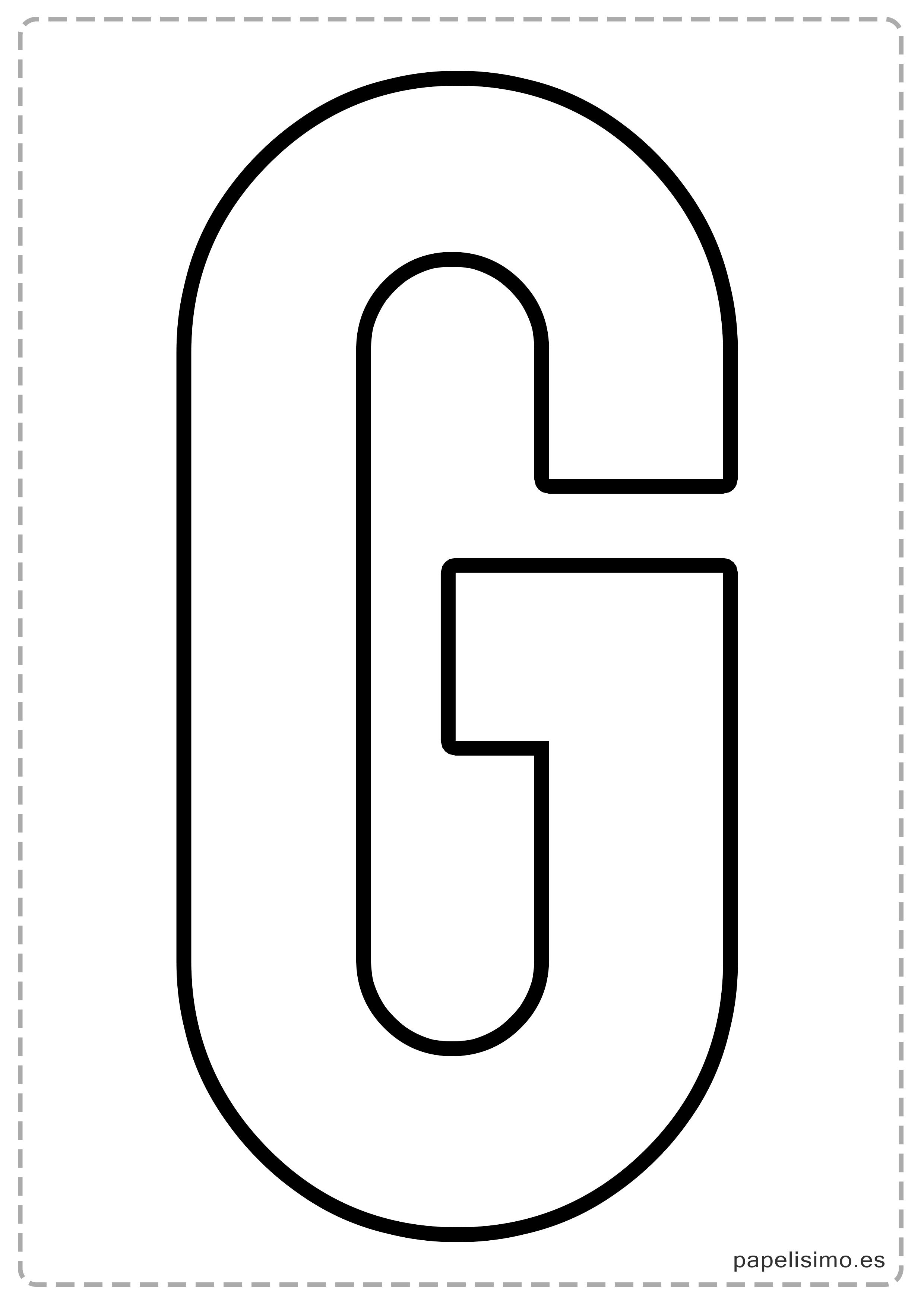 G Letras Para Recortar Y Pegar Guirnalda Feliz Cumpleanos Jpg