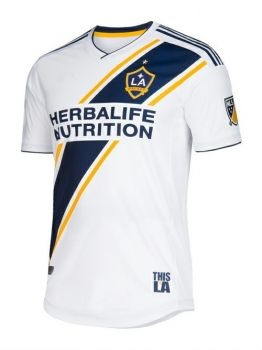 18-19 Cheap Jersey LA Galaxy Home Replica White Shirt  BFC830 ... cca35ae6cbf