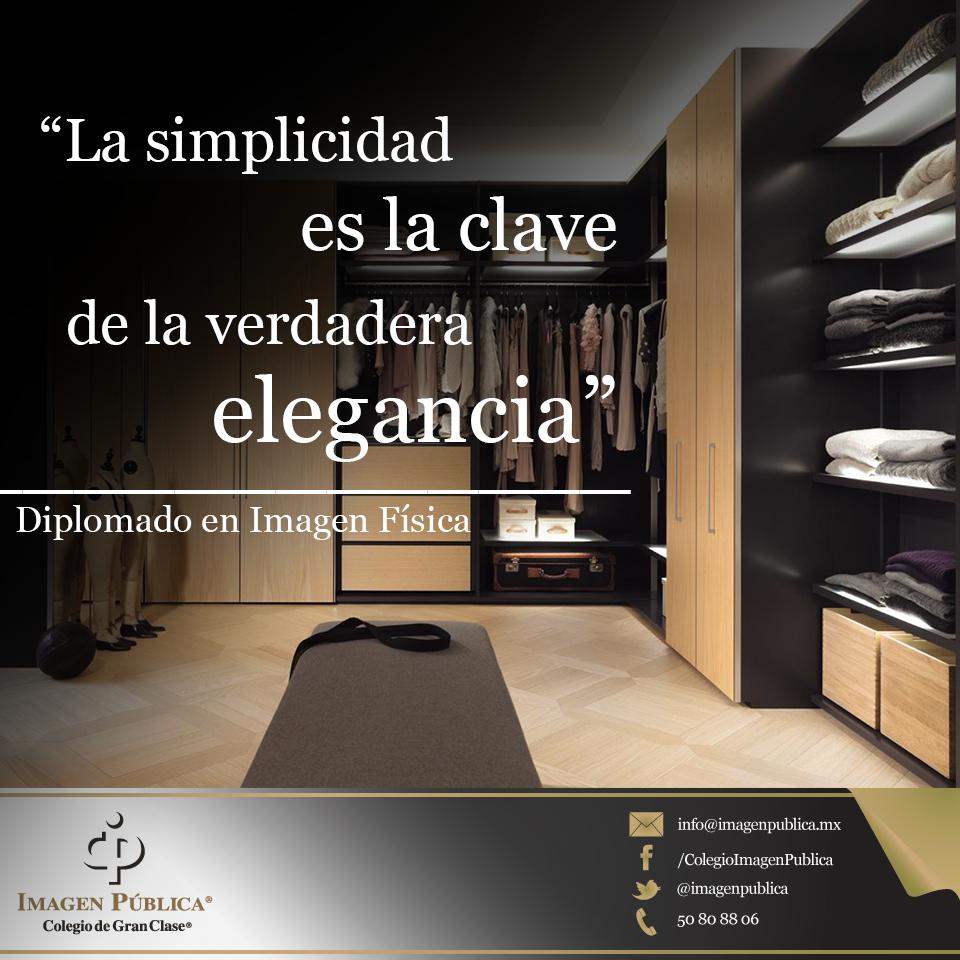 """""""La simplicidad es la clave de la verdadera elegancia"""". -Coco Chanel-  Diplomado en Imagen Física: http://ow.ly/tWHaD"""