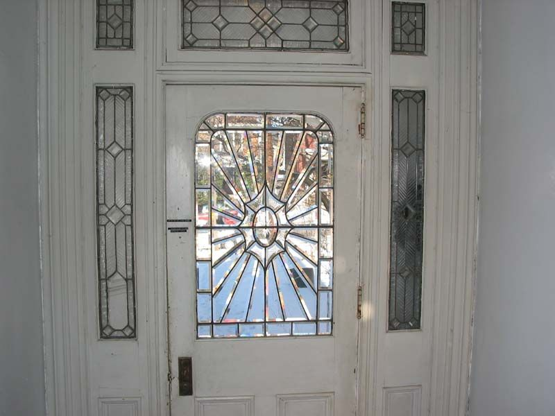 Leaded Glass Entry Doors Front Doors Leaded Glass Double Entry
