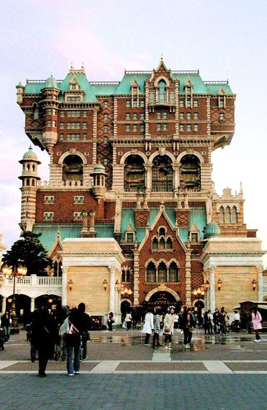 The Twilight Zone Tower Of Terror Wikipedia The Free Encyclopedia Unusual Buildings Tokyo Disney Sea Tower Of Terror