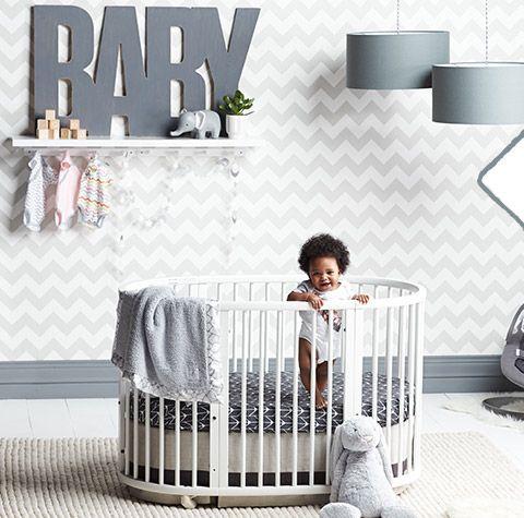 Oilo Crib Bedding For Oval Stokke Crib At Nordstrom Baby