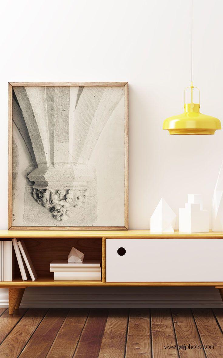 Living room decor fine art print french print architecture art