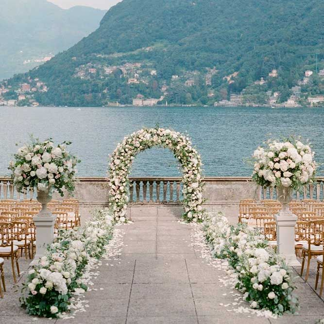 Lake Wedding Ideas: 24 Beautiful Wedding Arch Ideas For Your Day Of Love