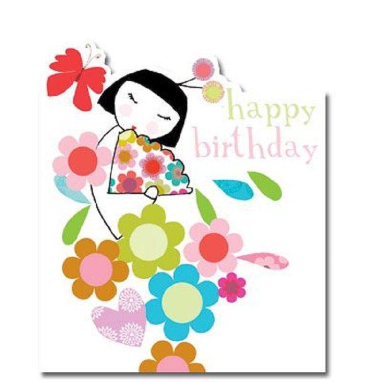 Japanese Birthday Invitation Free Tarjetas De Cumpleanos Nina Chica Japonesa Invitaciones