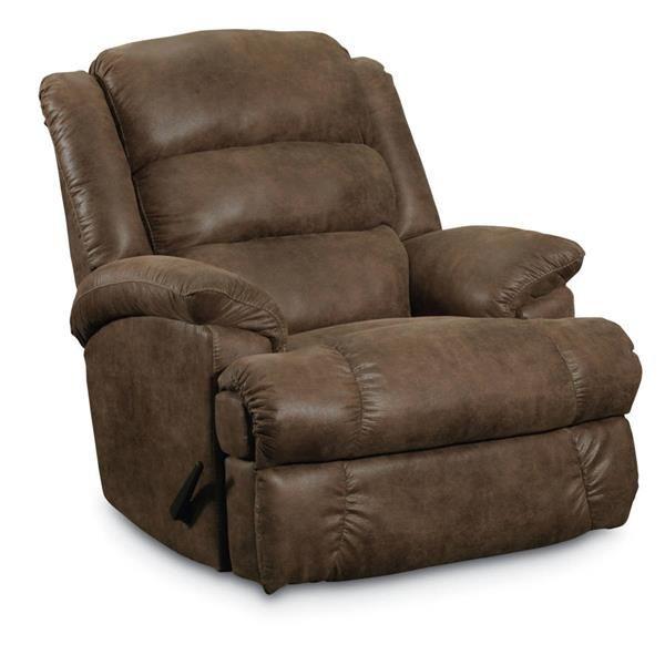 knox traditional shagun mocha fabric comfortking rocker recliner