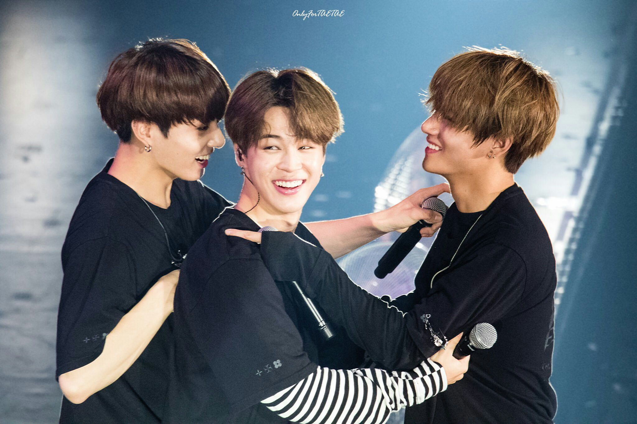 170614 Maknae Line Being The Maknae Line At The 2017 Bts Live Trilogy Episode Lll In Nagoya I Ll Get Diabetes Just Looking At Them クオズ マンネライン テテグク