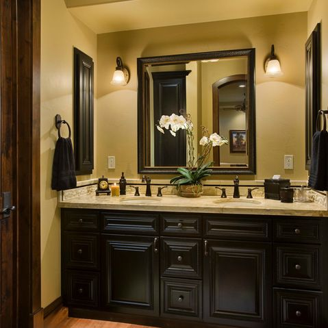 Bathroom Design Ideas, Pictures, Remodeling and Decor | *Decorations on small rustic bathrooms, southwestern rustic bathrooms, shabby chic rustic bathrooms, tuscany inspired bathrooms, tuscan bathroom art, trim beadboard in bathrooms, old world rustic bathrooms, tuscan-themed bathrooms, coastal rustic bathrooms, modern rustic bathrooms, tuscan-inspired bathrooms, vintage rustic bathrooms, luxury rustic bathrooms, country rustic bathrooms, contemporary rustic bathrooms, tuscan bathroom tile designs, mediterranean rustic bathrooms, natural rustic bathrooms, white rustic bathrooms, simple rustic bathrooms,