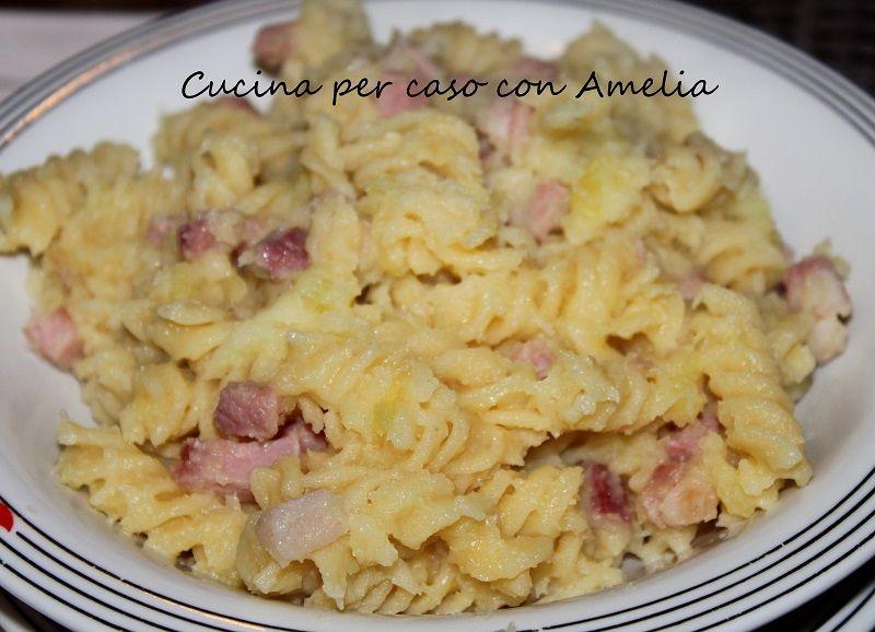 Ricetta pasta e fagioli con speck
