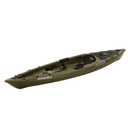 Sun dolphin journey 12 39 sit on top fishing kayak fishing for Walmart fishing boats