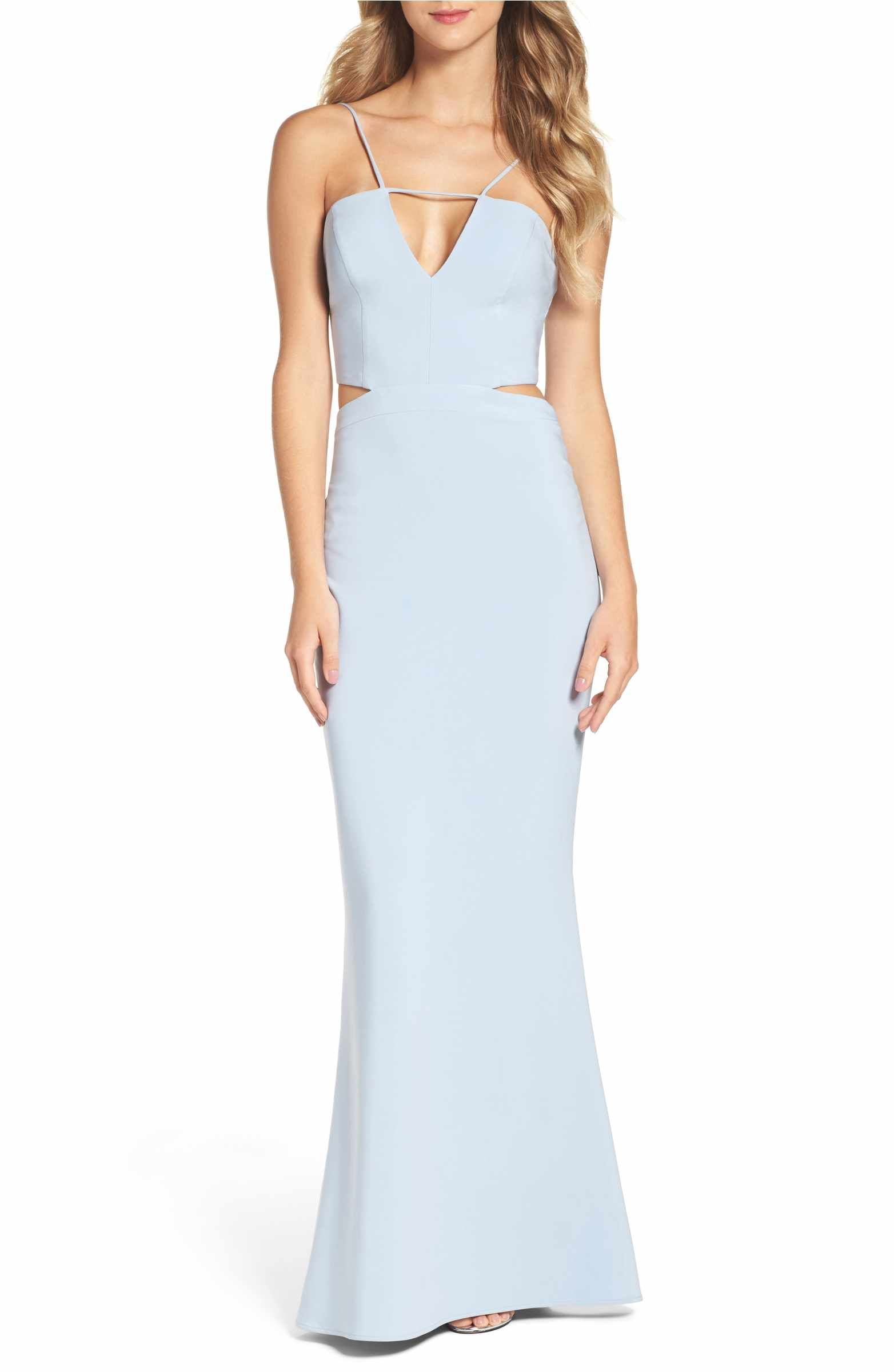 Main image maria bianca nero ashley cutout gown dresses