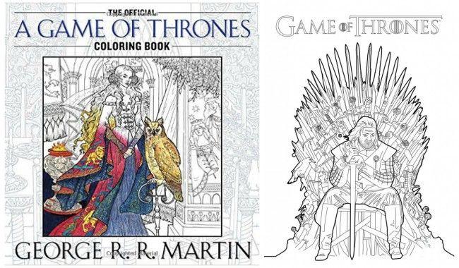 Un Livre De Coloriage Game Of Thrones Parce Quon Est Fan Ou On Ne
