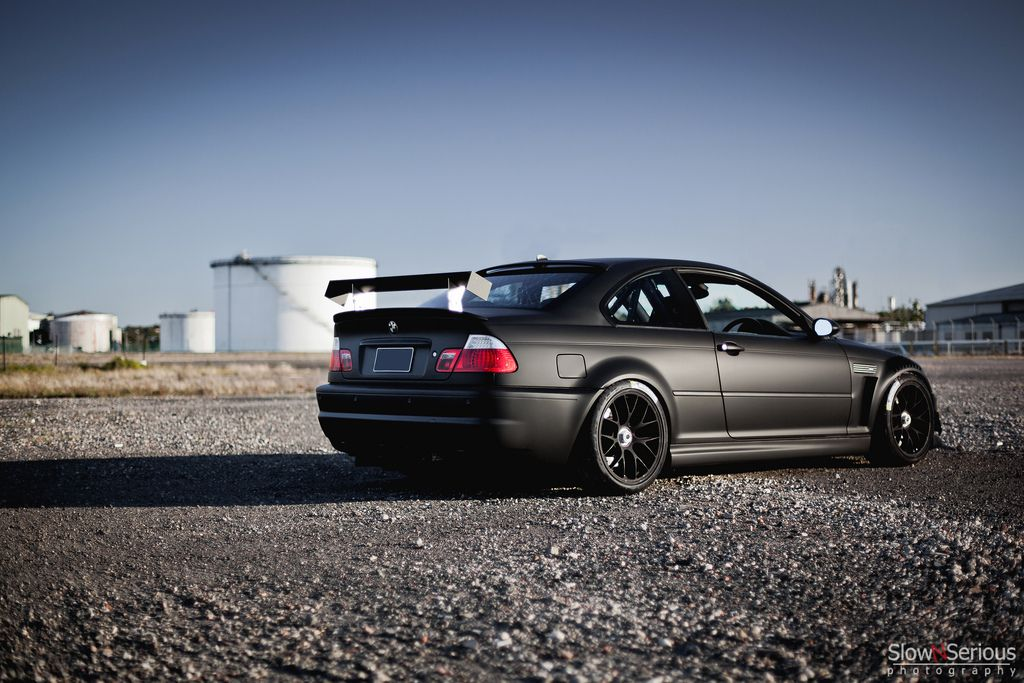 Matte Black E46 M3 | Speed | Freak | Pinterest | E46 m3 ...