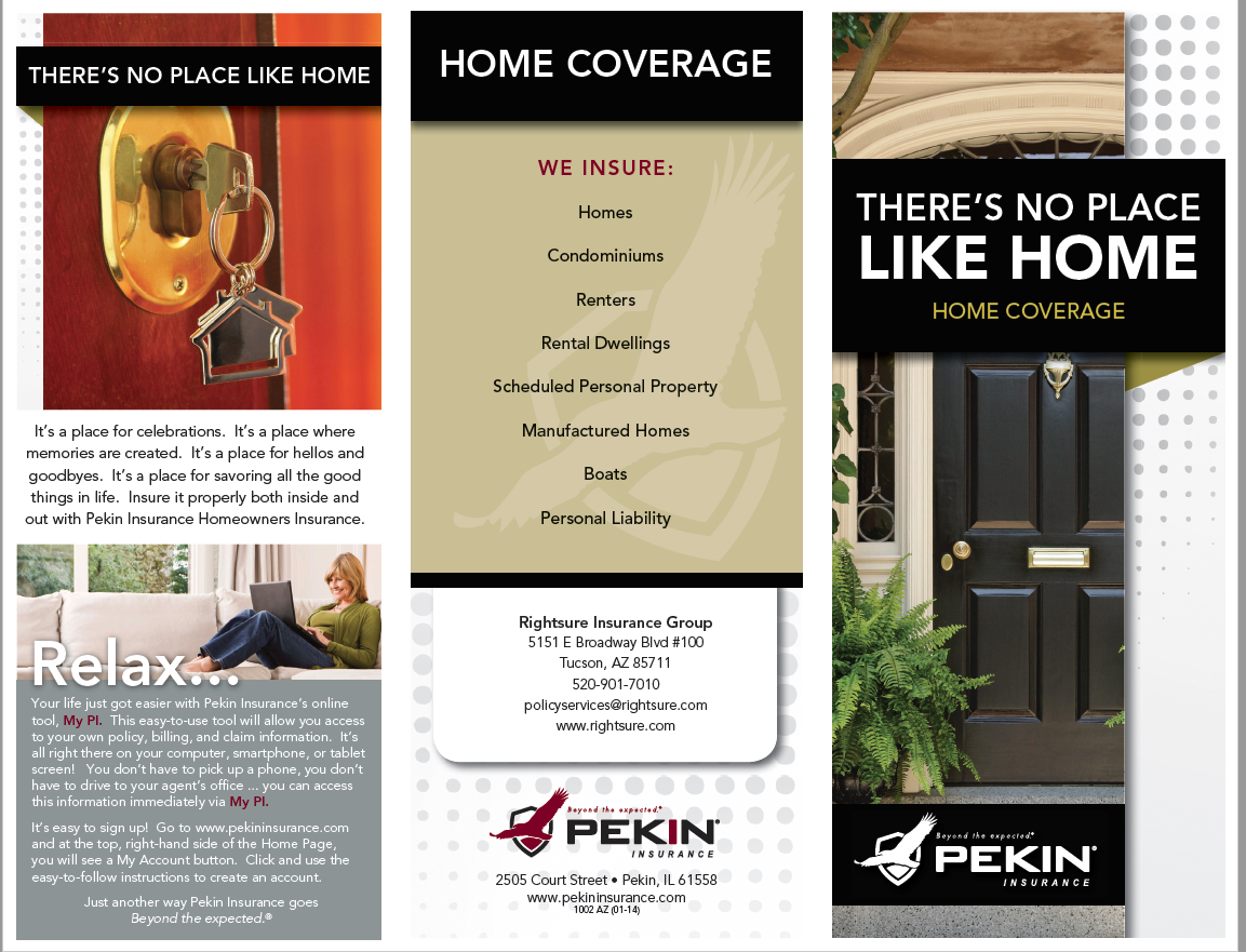Rightsure Insurance Can Offer Home Insurance Quotes Via Pekin