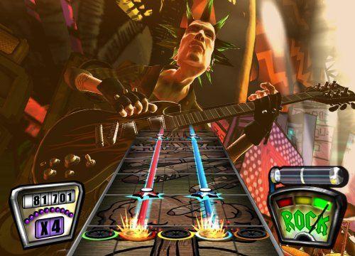 Guitar Hero 2 Bundle with Guitar -Xbox 360  http://www.cheapgamesshop.com/guitar-hero-2-bundle-with-guitar-xbox-360/