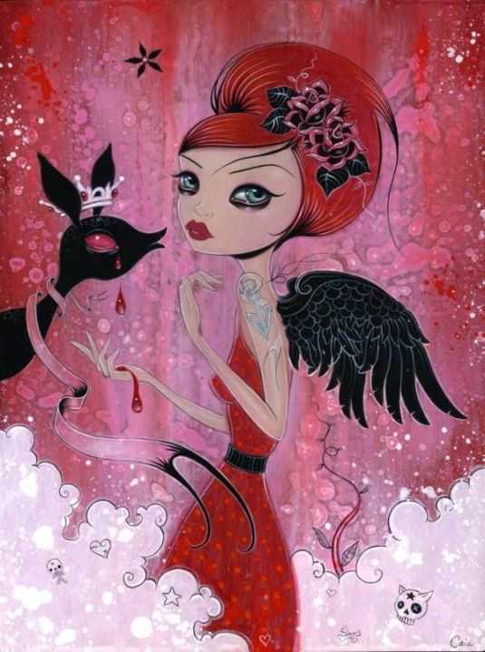 Fashionadictas by Marcela: Blumarine and angels or demons of Caia Koopman!!!