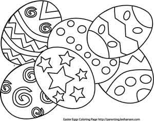 free easter printable coloring pages for kids easter games and activities too - Free Easter Coloring Pages