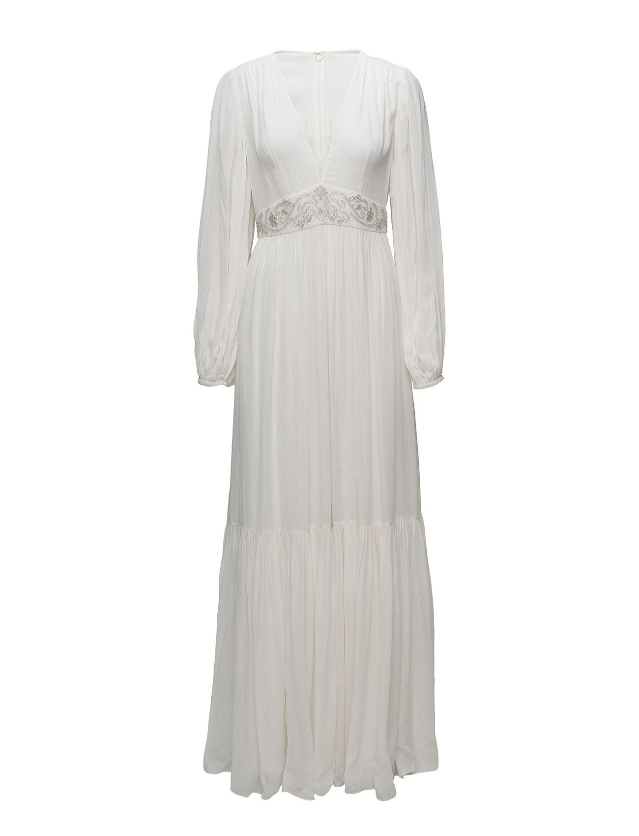 French Connection Cari Sparkle Maxi Wedding Dress