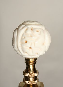 Finials For Lamps Pleasing Long Life Bead Finialwwwmyrlg#vintage #lighting  Lamp Design Ideas