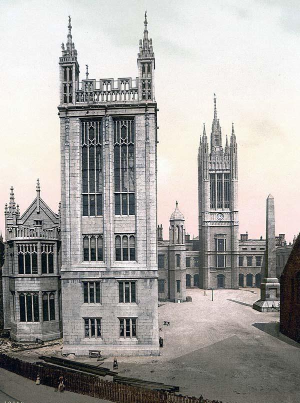 Marischal College Aberdeen Scotland With Images Places In Scotland Scotland History Vintage Scotland