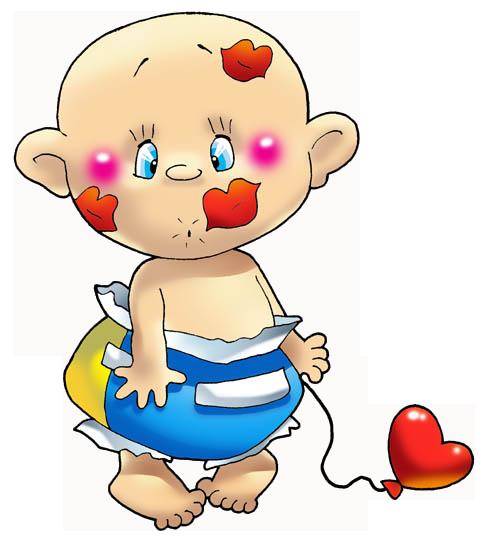 Смайликов, смешной рисунок маленького ребенка