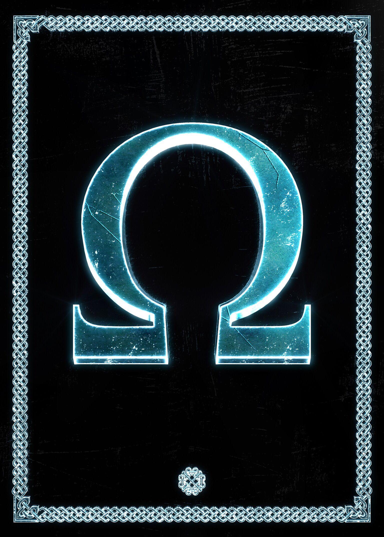 Omega Fantasy Poster Print Metal Posters God Of War Fantasy