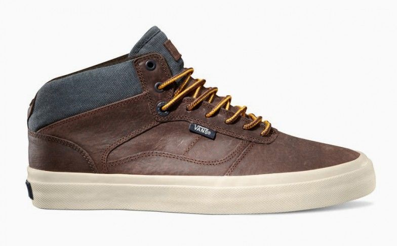 vans brown bedford trainers