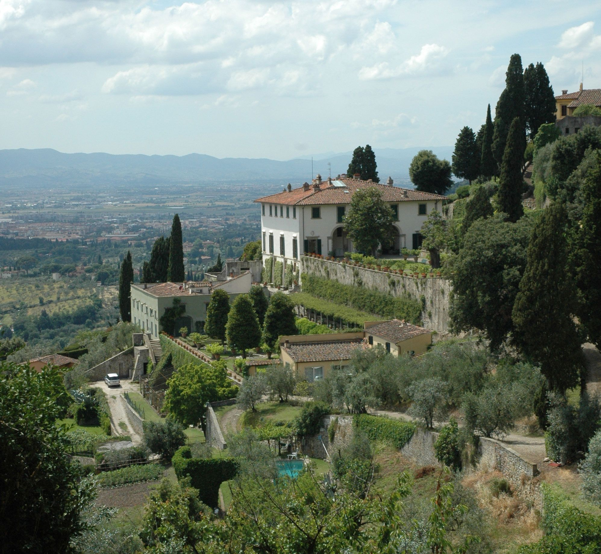 Villa Medici Fiesole Wonders of the world