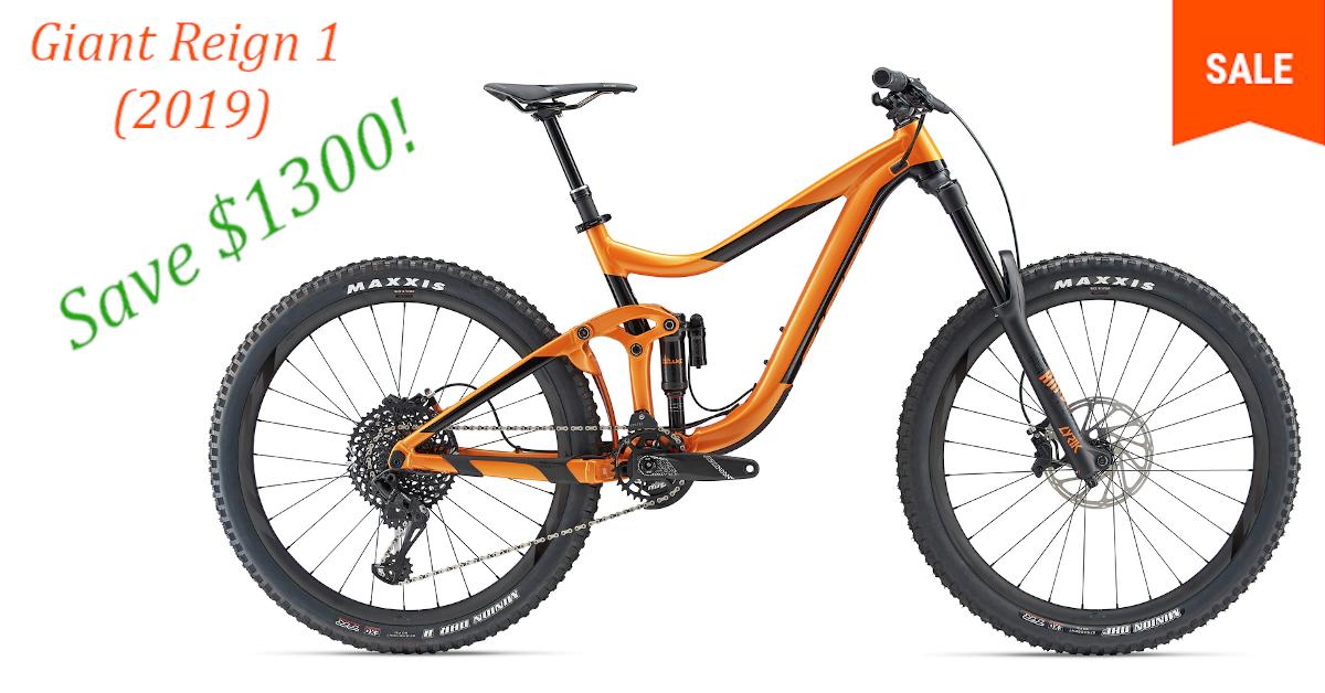 Giant Reign 1 19 Ora 18 M In 2020 Downhill Mountain Biking