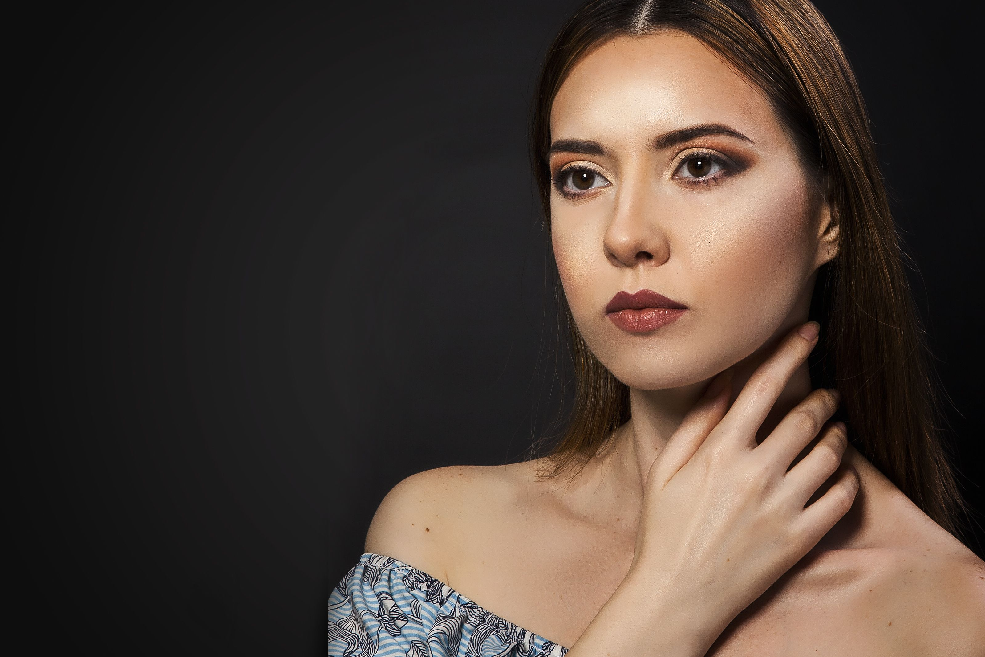 #beautiful #model take a glimpse of our students work. From basic to advance, student learn with the help of our #professional makeup artists.