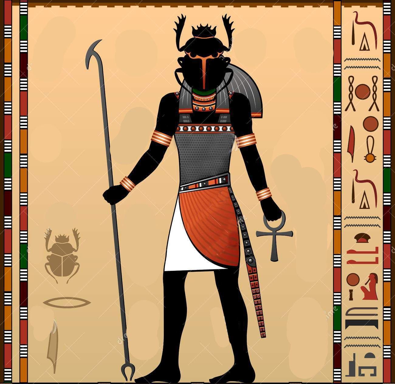 Jepri Dios Creador Dioses Egipcios Mitologia Egipcia Dioses