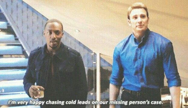 Sam and Steve in Age of Ultron