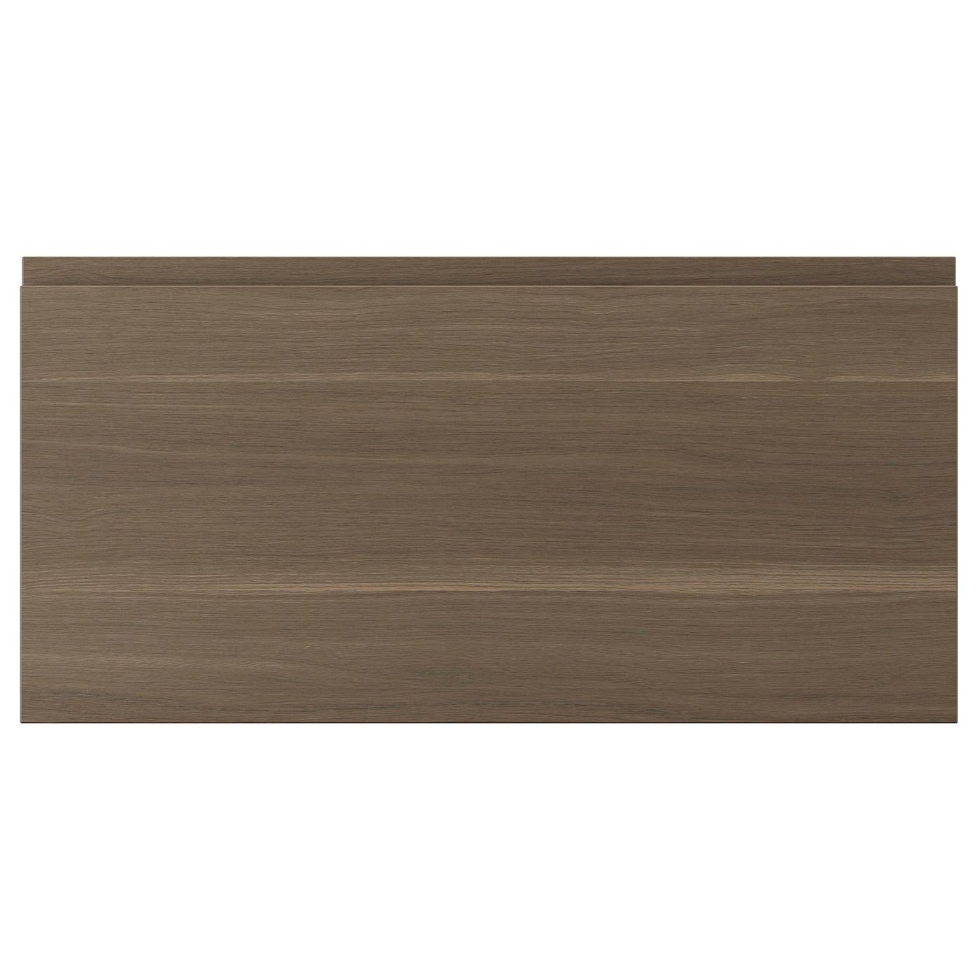Voxtorp Drawer Front Walnut Effect 80x40 Cm In 2020 Ikea