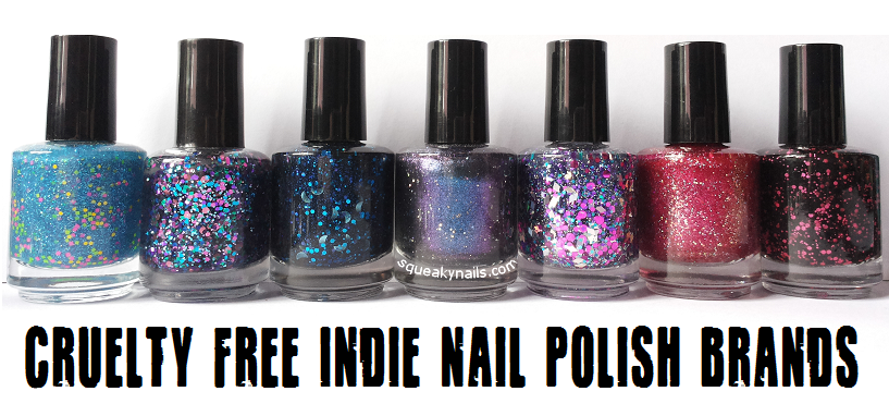 Squeaky Nails: Cruelty Free Indie Nail Polish Brands http://www ...