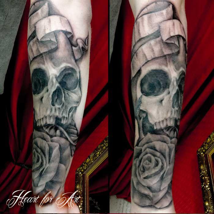 skull rose scroll tattoo tattoo pinterest scroll tattoos and tattoo. Black Bedroom Furniture Sets. Home Design Ideas