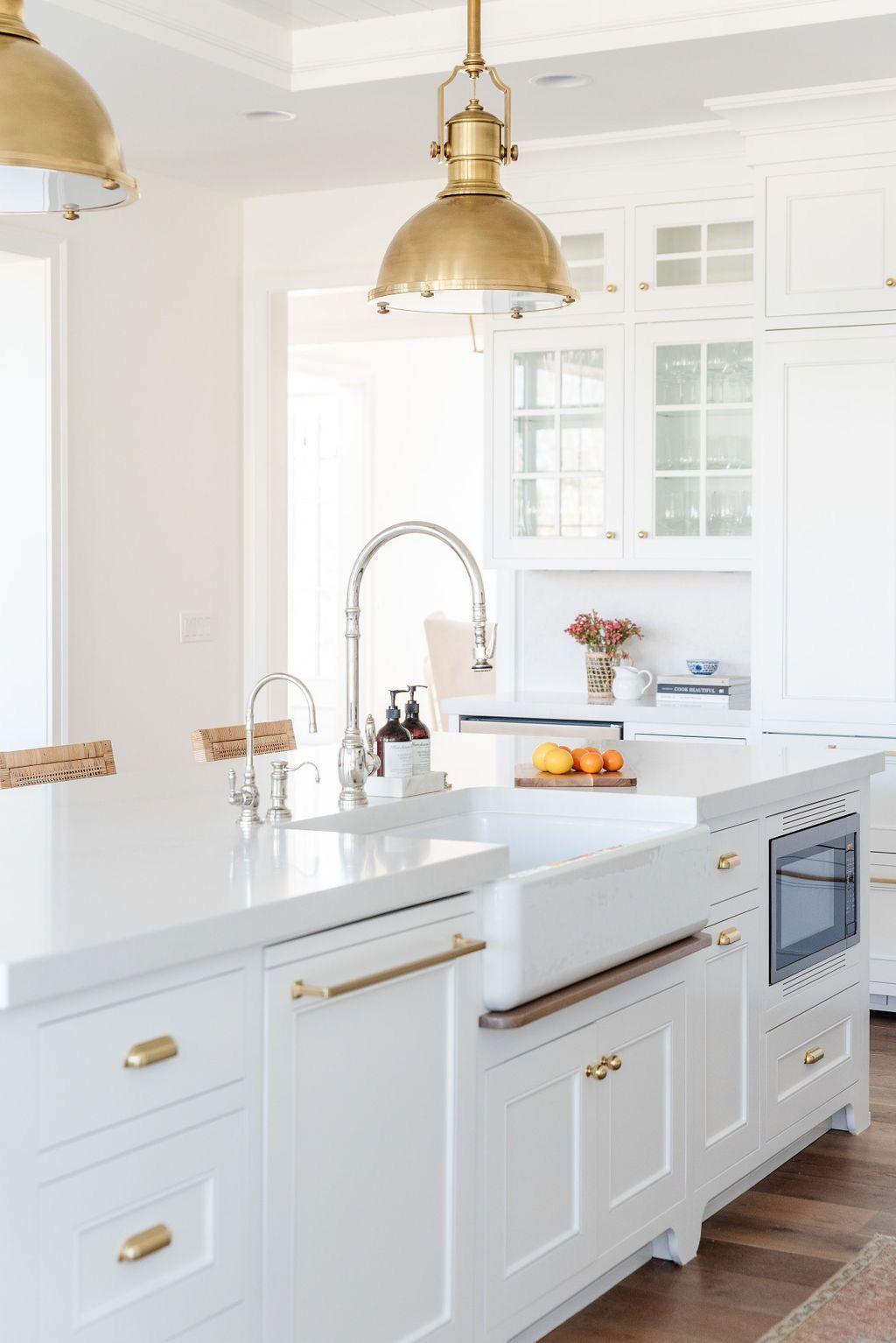 A classic white kitchen tour   KATE KNOWLES HOME en 20   Diseño ...