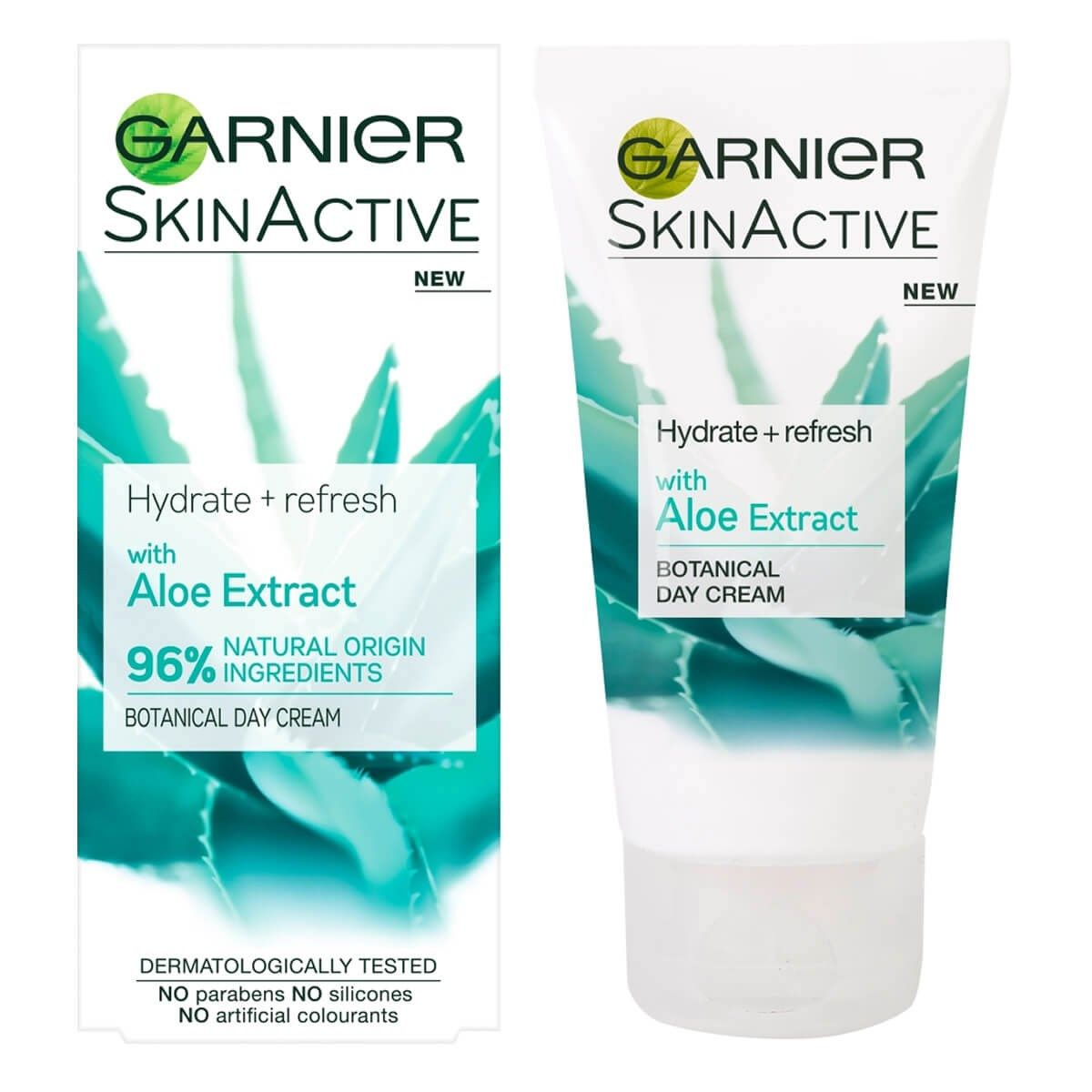 Garnier Skinactive Natural Aloe Extract Moisturiser Normal Skin Holika Pig Nose Clear Black Head Perfect Sticker 10pcs