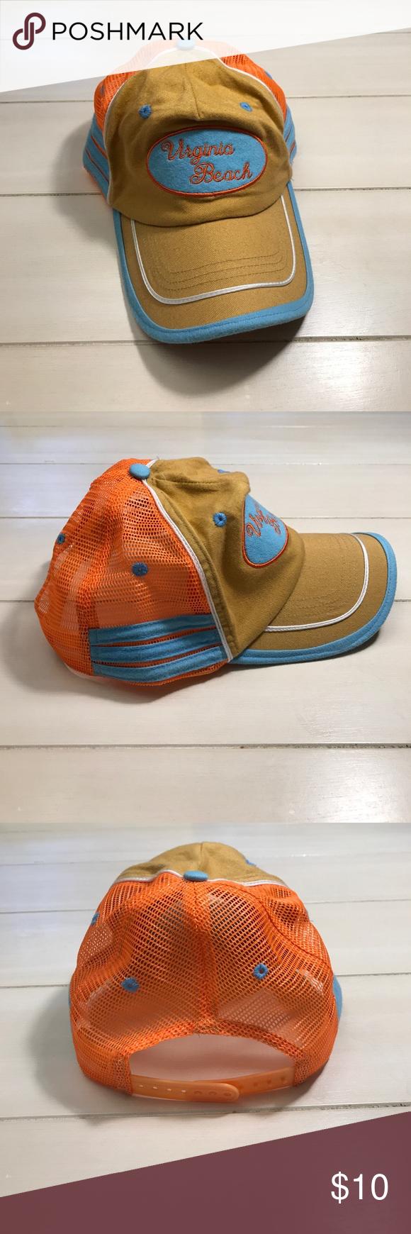 Virginia Beach Hat Summer Time Adorable Women S Va In Great Colors Accessories Hats