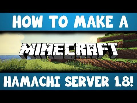 How To Make A Minecraft Hamachi Server Httpdancedancenow - Minecraft server erstellen 1 8 mit hamachi