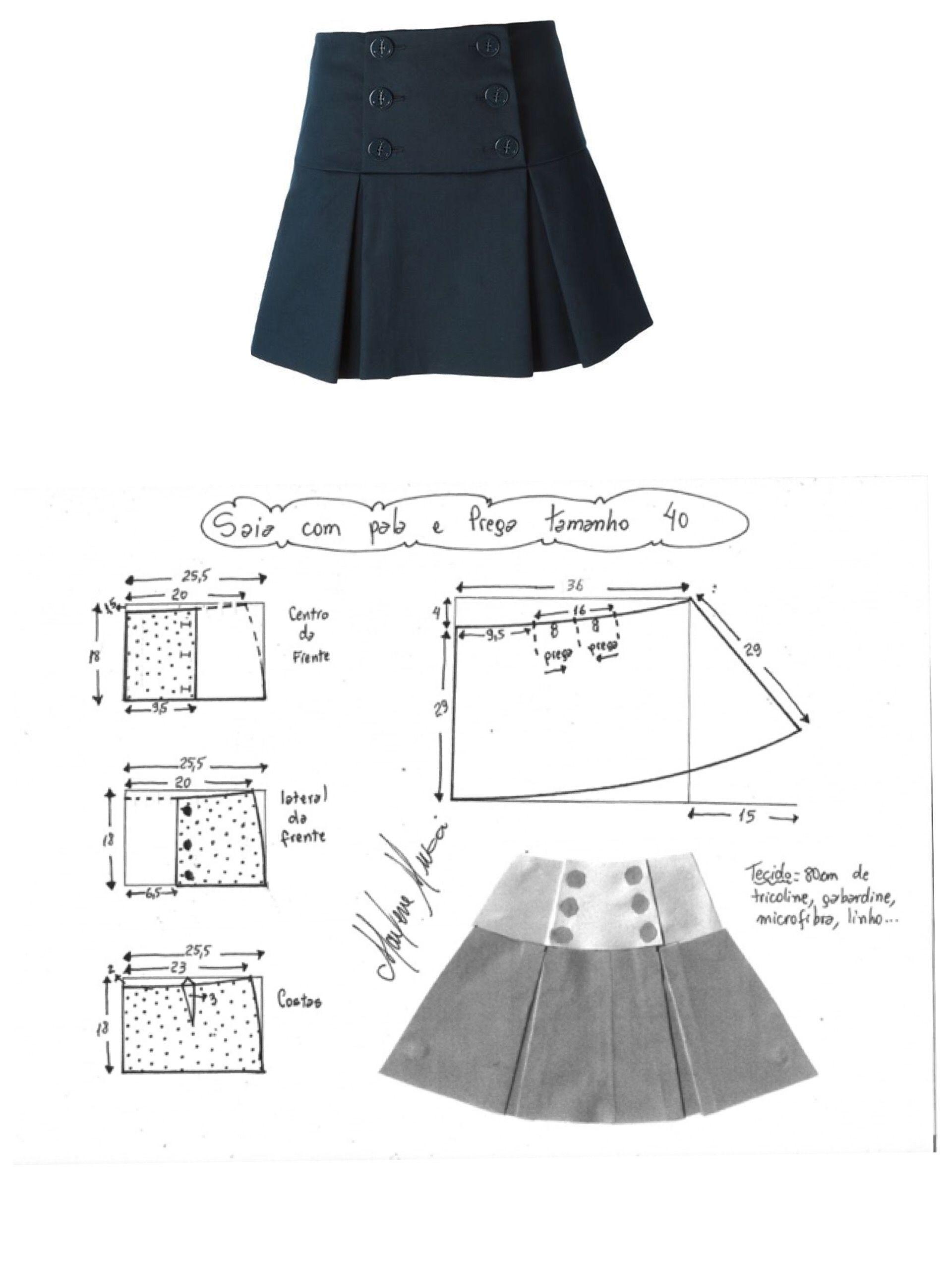 Pin de Viviana Rivera en Patrones De Costura | Pinterest | Costura ...
