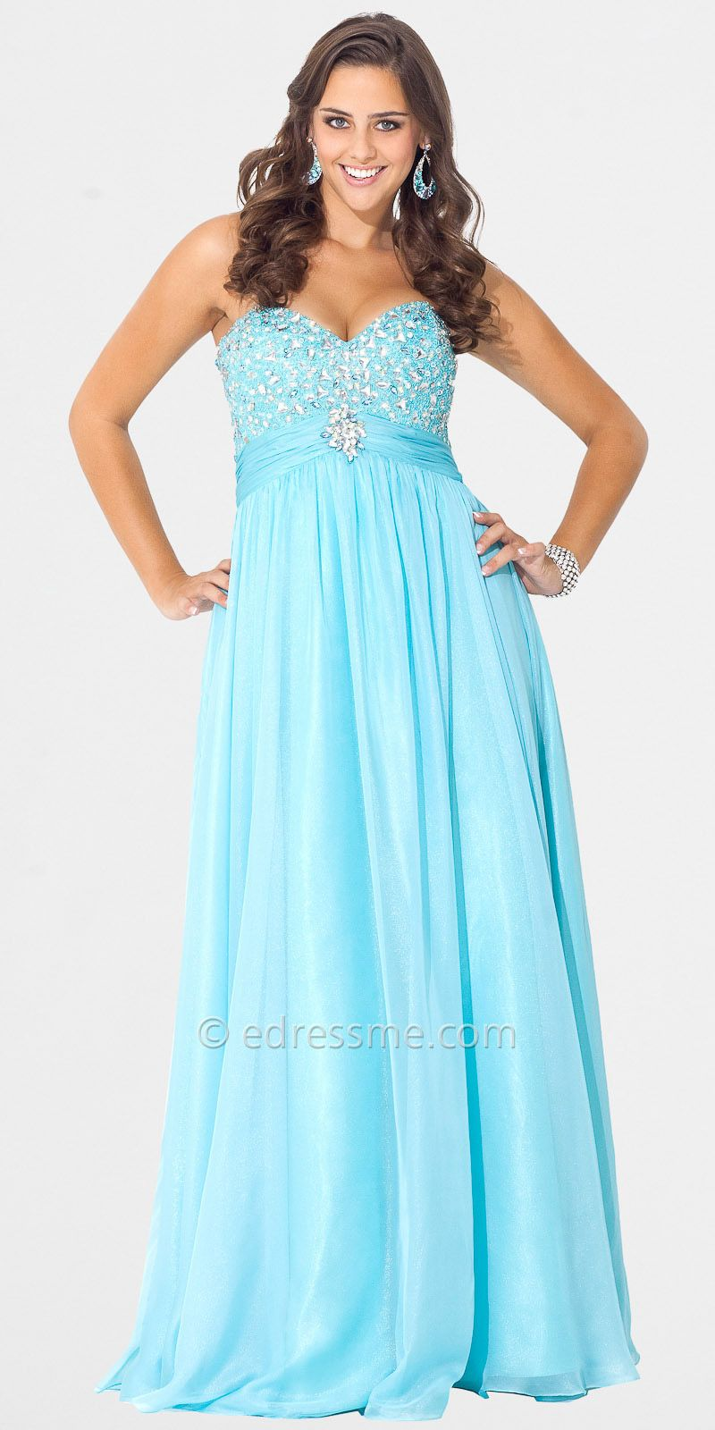 Wonderful Plus Size 2015 Prom Dresses Photos - Wedding Ideas ...