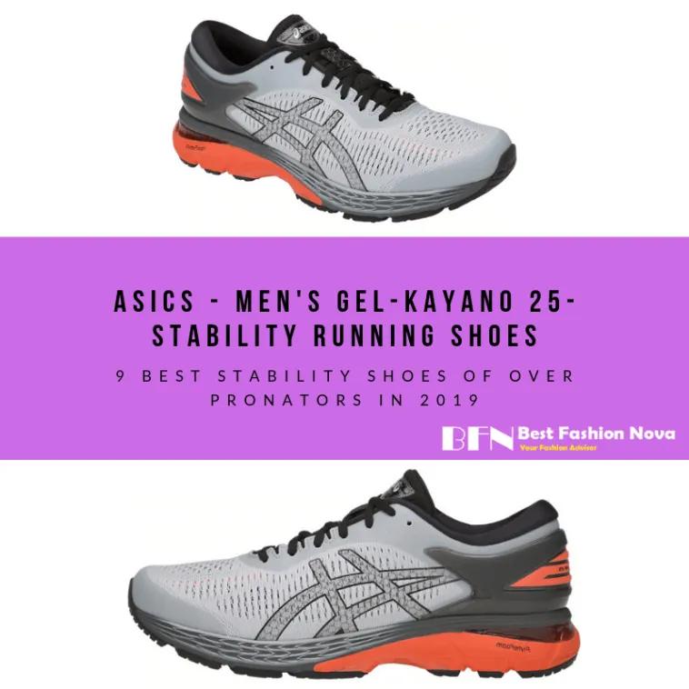 Stability running shoes, Asics men