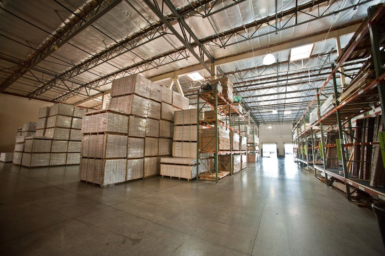 Warehouse View Leading To Will Call And Shipping Receiving Design Floor Coating Warehouse