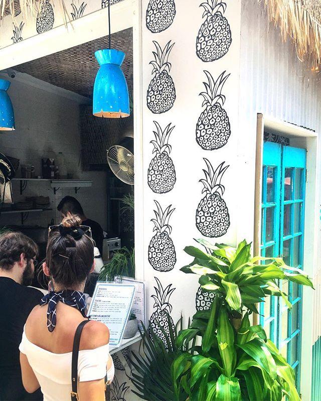 daily serving of fruit 🍍 @thebowerymarket  [SEV Cities Instagram]