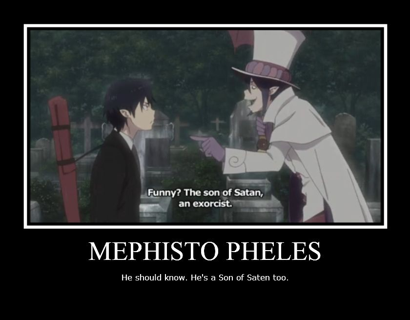 And he's head of a school for exorsists | Ao no exorcist ...