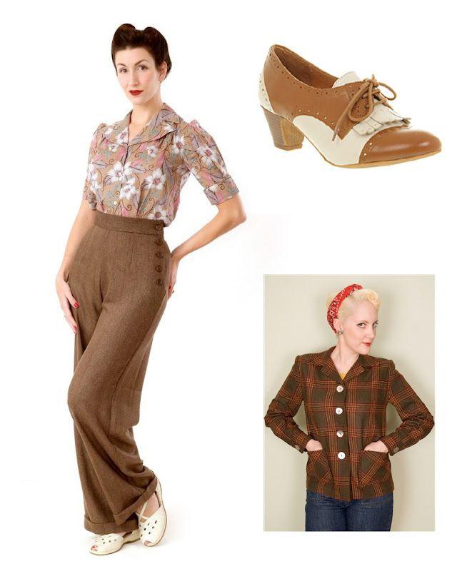 Vintage Fashion Lifestyle Celluloid Clobber Retro Fashion Vintage Outfits Vintage Inspired Fashion